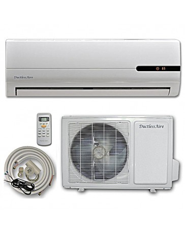 18000 BTU DuctlessAire Ductless Mini Split Air Conditioner Heat Pump 208-230V