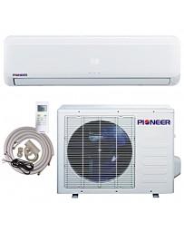 12000 BTU Pioneer Ductless Mini Split Air Conditioner Heat Pump 208-230V 15 SEER DC Inverter with Kit