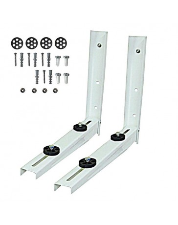 9000 - 12000 BTU Outdoor Wall Mounting Bracket for Ductless Mini Split Air Conditioners and Heat Pumps
