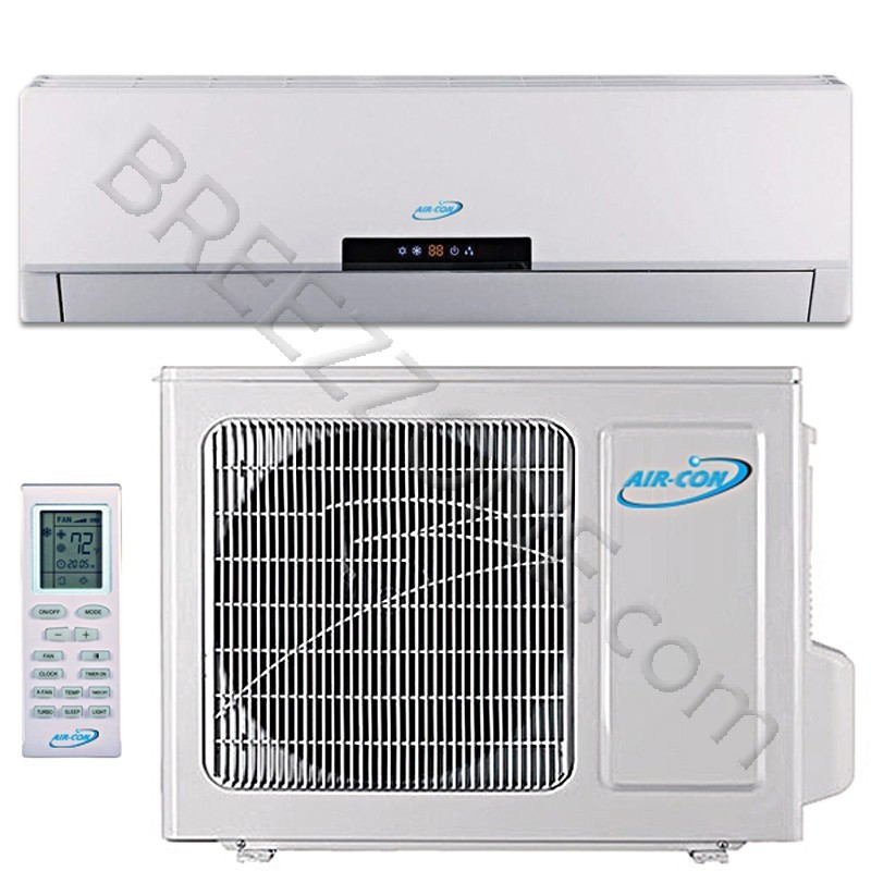 36000 BTU Air-Con Ductless Mini Split Air Conditioner Heat Pump 208-230V 18 SEER DC Inverter