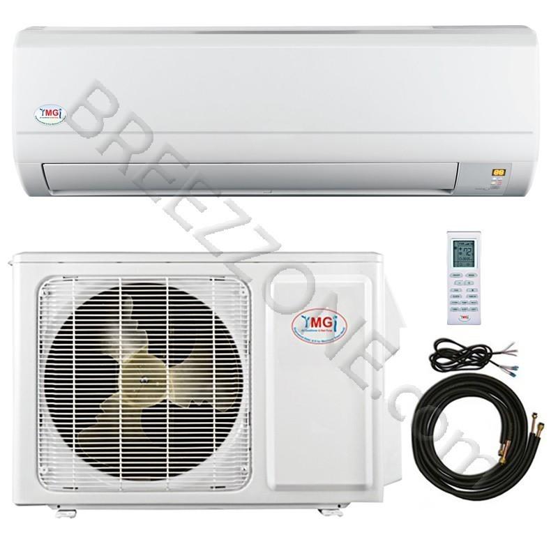 18000 BTU YMGI Ductless Mini Split Air Conditioner Heat Pump 208-230V 16 SEER DC Inverter with Kit