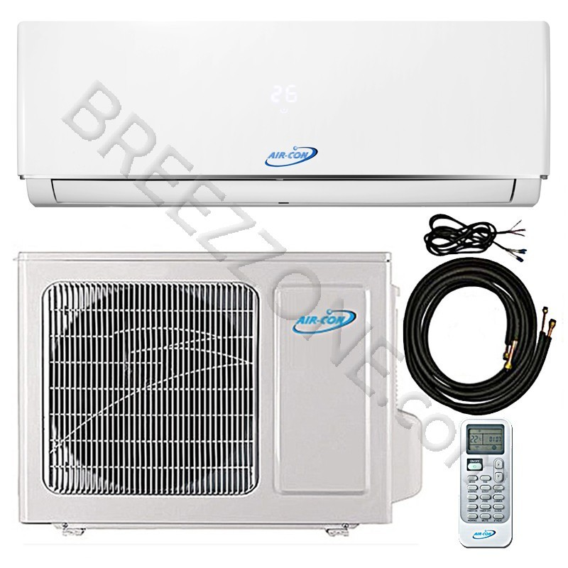 18000 Btu Air Con Ductless Mini Split Air Conditioner Heat