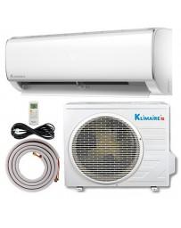18000 BTU Klimaire Ductless Mini Split Air Conditioner Heat Pump 208-230V 15 SEER DC Inverter with Kit