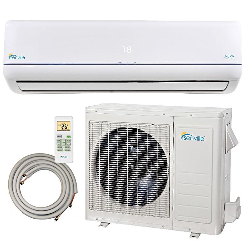 9000 Btu Senville Ductless Mini Split Air Conditioner Heat
