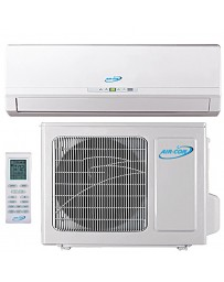 18000 BTU Air-Con Ductless Mini Split Air Conditioner Heat Pump 208-230V 18 SEER DC Inverter