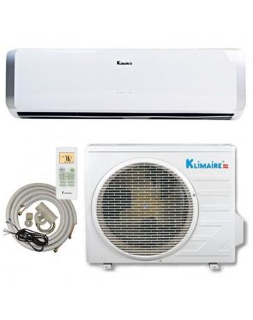 24000 BTU Klimaire Ductless Mini Split Air Conditioner Heat Pump 208-230V 19 SEER DC Inverter with Kit