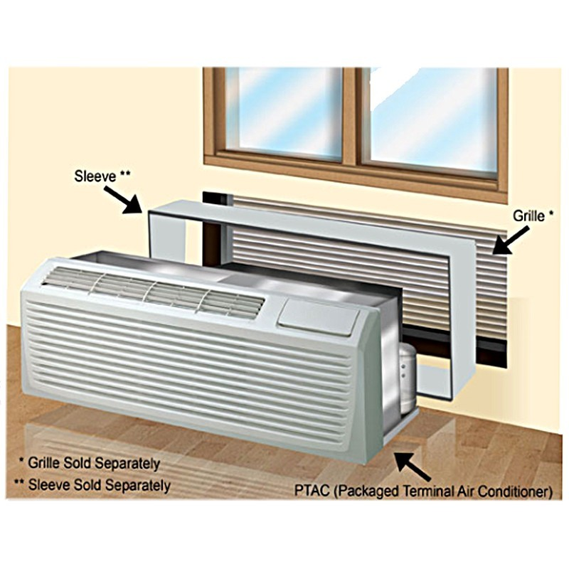 15 000 Btu Ymgi Pthp Packaged Terminal Air Conditioner