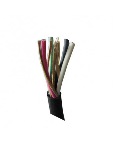 100 Ft 14 AWG 4 Conductor Color Coded Stranded Cable for Ductless Mini Split Systems