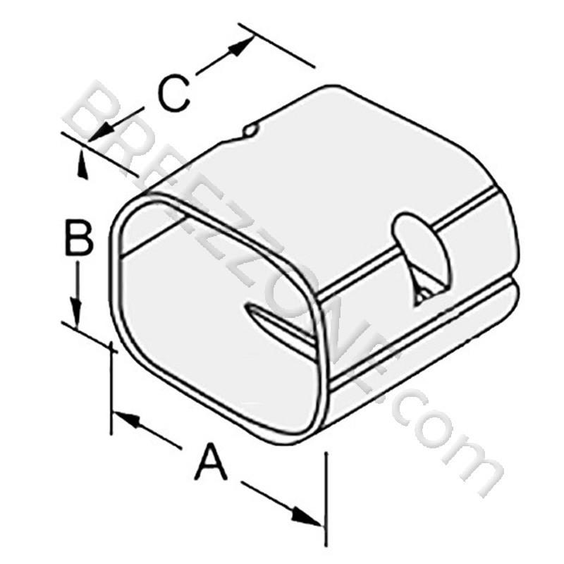 4 u0026quot  coupler line set cover for split air conditioner  u0026 heat