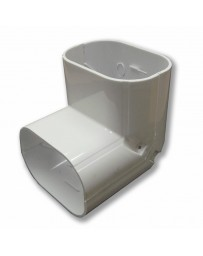 """4"""" Elbow Vertical 90° Line Set Cover For Split Air Conditioner & Heat Pump Systems"""
