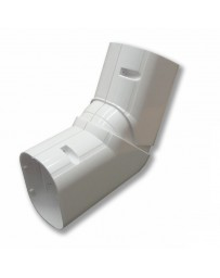 """4"""" Elbow Horizontal 90°-120° Line Set Cover For Split Air Conditioners & Heat Pumps"""