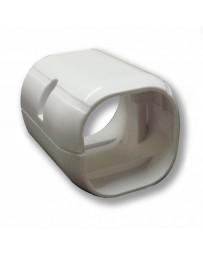 "4"" End Cap Line Set Cover For Split Air Conditioner & Heat Pump Systems"