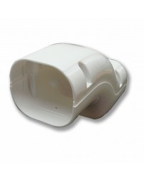 "3"" Bridge Line Set Cover For Split Air Conditioner & Heat Pump Systems"