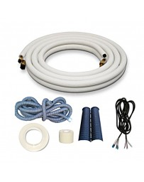 1/4-1/2 16 Ft Installation Kit for Ductless Mini Split Air Conditioner and Heat Pump Systems