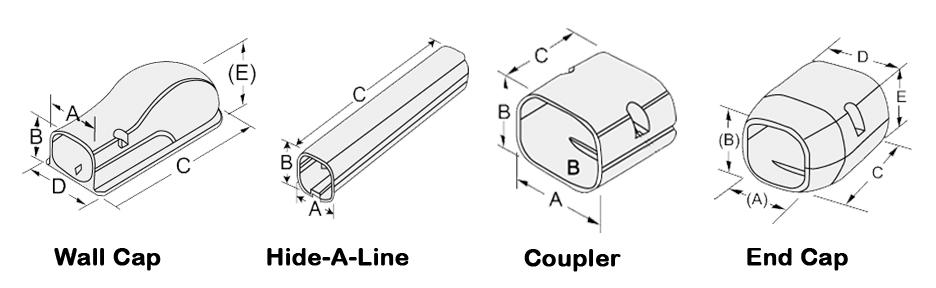 PVC Line Set Cover Kit