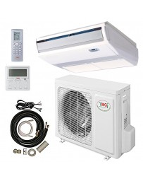 18000 BTU YMGI Ceiling Floor Mini Split Air Conditioner Heat Pump 208-230V 18 SEER DC Inverter with Kit