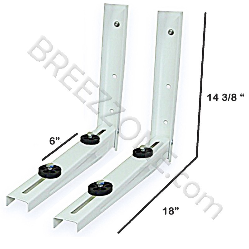9000 12000 Btu Outdoor Wall Mounting Bracket For Ductless Mini Split Air Conditioners And Heat Pumps