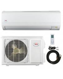 9000 BTU YMGI Ductless Mini Split Air Conditioner Heat Pump 110-120V 16 SEER DC Inverter with Kit