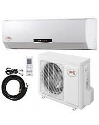 9000 BTU YMGI Ductless Mini Split Air Conditioner Heat Pump 115V 22 SEER DC Inverter with Kit