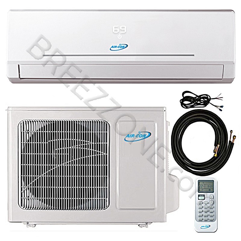 24000 Btu Air Con Ductless Mini Split Air Conditioner Heat