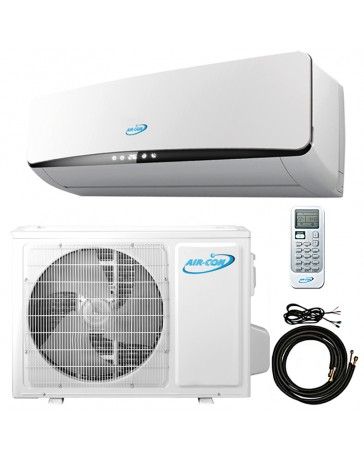 12000 BTU Air-Con Ductless Mini Split Air Conditioner Heat Pump 208-230V 20 SEER DC Inverter
