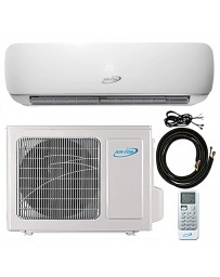 12000 BTU Air-Con Ductless Mini Split Air Conditioner Heat Pump 208-230V 25 SEER DC Inverter with Kit