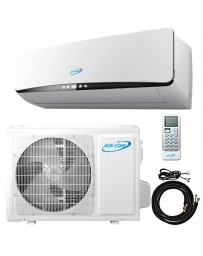 9000 BTU Air-Con Ductless Mini Split Air Conditioner Heat Pump 115V 19.3 SEER DC Inverter