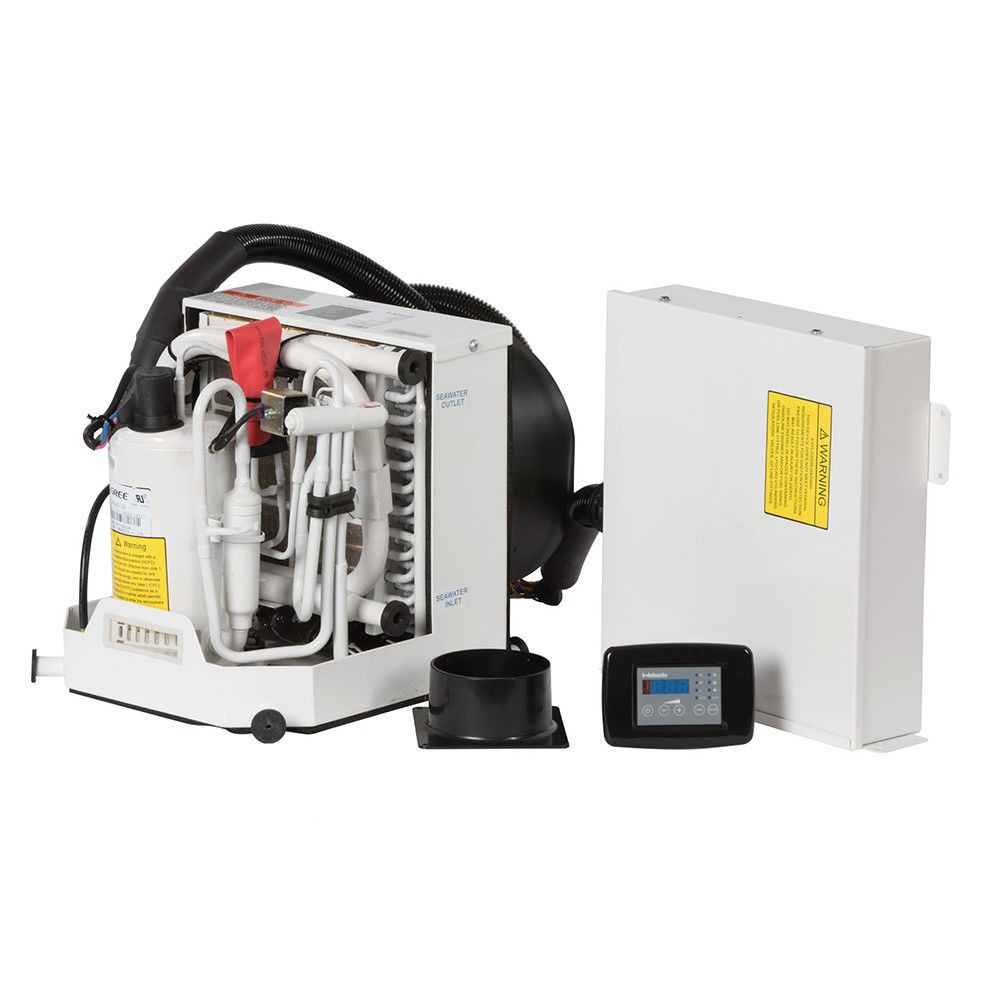 12,000 BTU Webasto Marine Air Conditioner with Heat Self