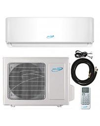 9000 BTU Air-Con Ductless Mini Split Air Conditioner Heat Pump 208-230V 38 SEER DC Inverter