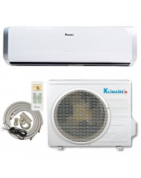 24000 BTU Klimaire Ductless Mini Split Air Conditioner Heat Pump 208-230V 19 SEER DC Inverter with Kit