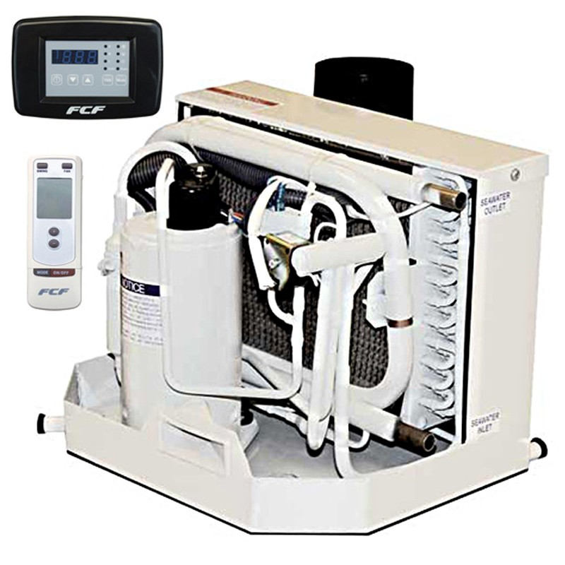 16,000 BTU Webasto Marine Air Conditioner with Heat 115V