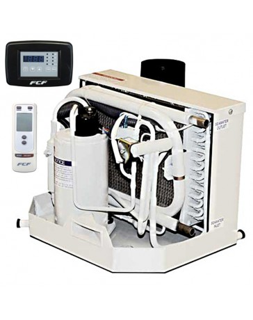 16,000 BTU Webasto Marine Air Conditioner with Heat 208-230V