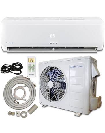 12000 BTU Air-Con Ductless Mini Split Air Conditioner Heat Pump 115V with Kit