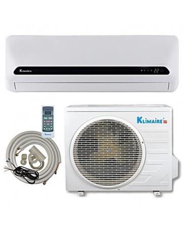 12000 BTU Klimaire Ductless Mini Split Air Conditioner Cooling Only 208-230V 15 SEER DC Inverter with Kit