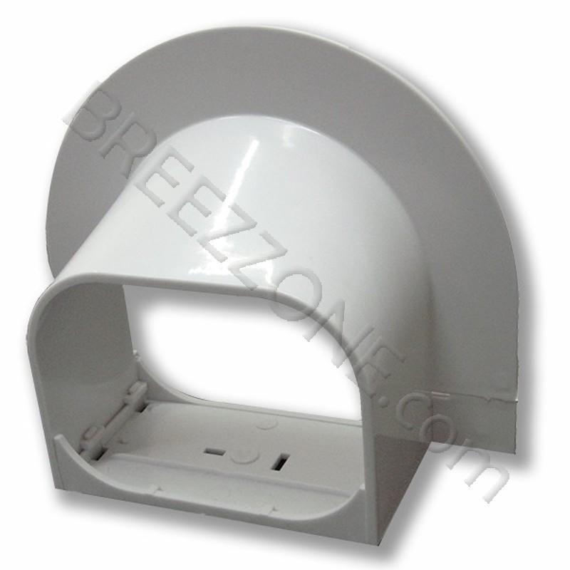 3 U0026quot  Corner Cap Line Set Cover For Split Air Conditioner  U0026 Heat Pump Systems