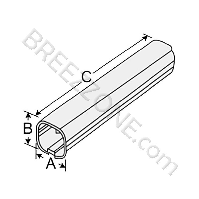 4 u0026quot  13 ft tube 2 x 78 u0026quot line set cover for split air conditioner  u0026 heat pump systems
