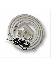 1/4-1/2 23 Ft Installation Kit for Ductless Mini Split Air Conditioner and Heat Pump Systems